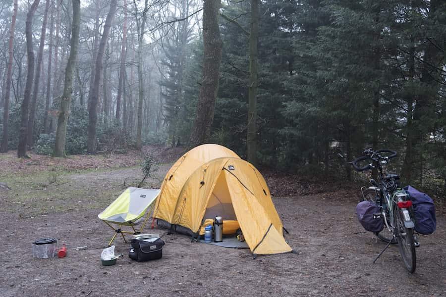 نکاتی در مورد چادر زدن به تنهایی