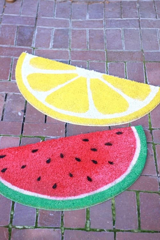 Diy fruit mat