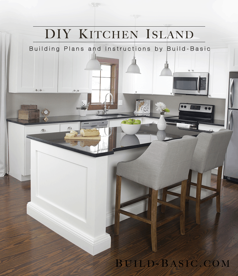 build kitchen island plans homemade kitchen islands and seating 1915