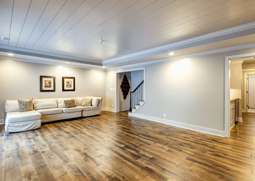Consider your basement ceiling