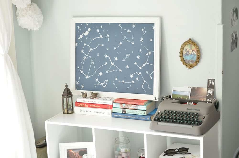 Constellation art diy