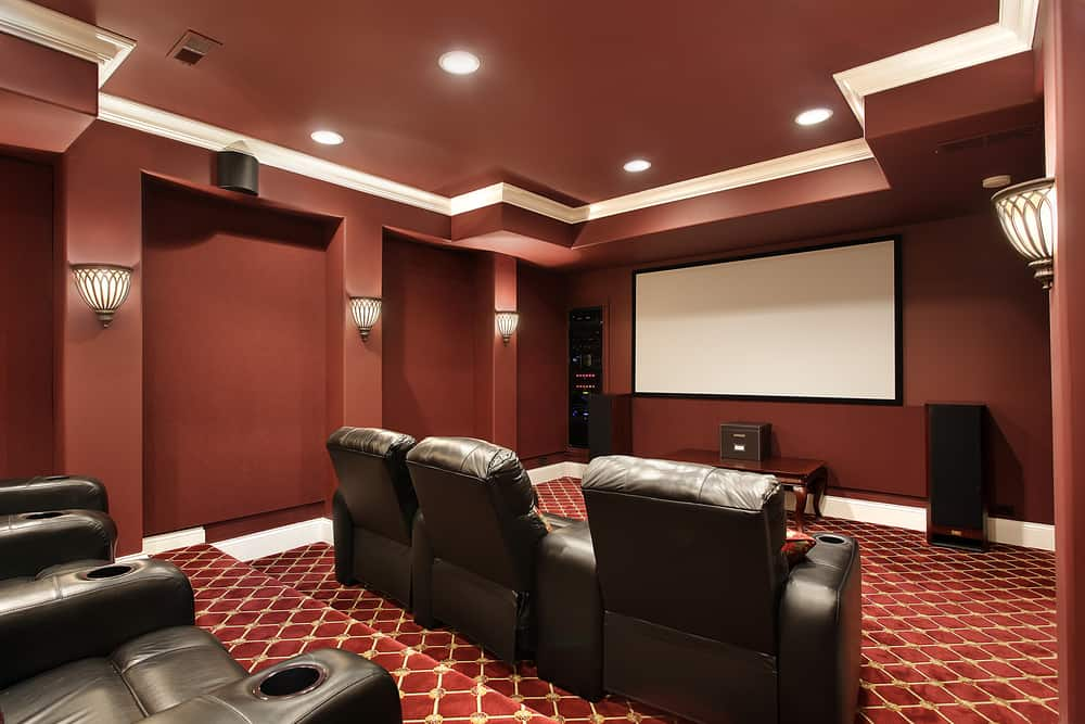 Create a home theatre or movie room