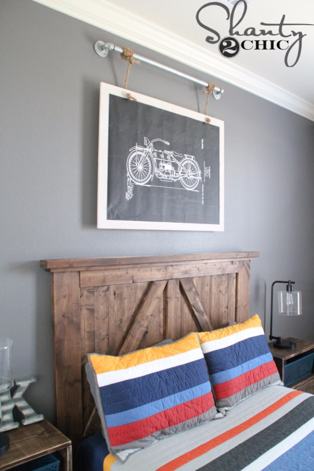 Diy industrial wall art