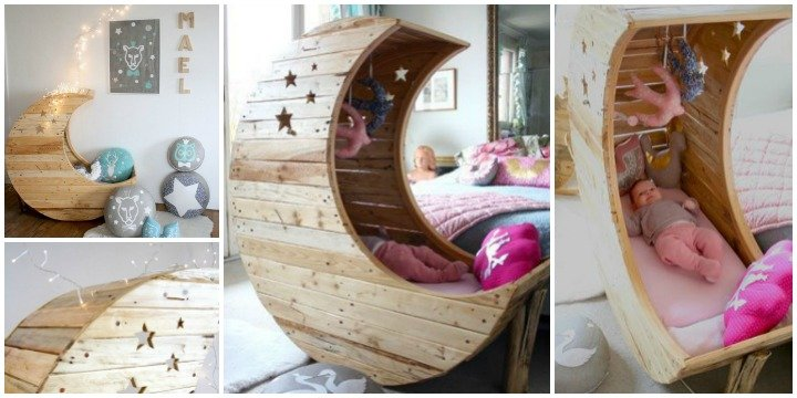 Diy crescent moon cradle