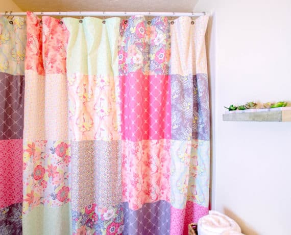 15 Ways To Reuse Shower Curtains, How To Use Old Shower Curtains