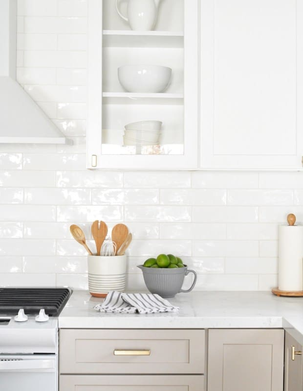 Diy subway tile kitchen sink backsplash