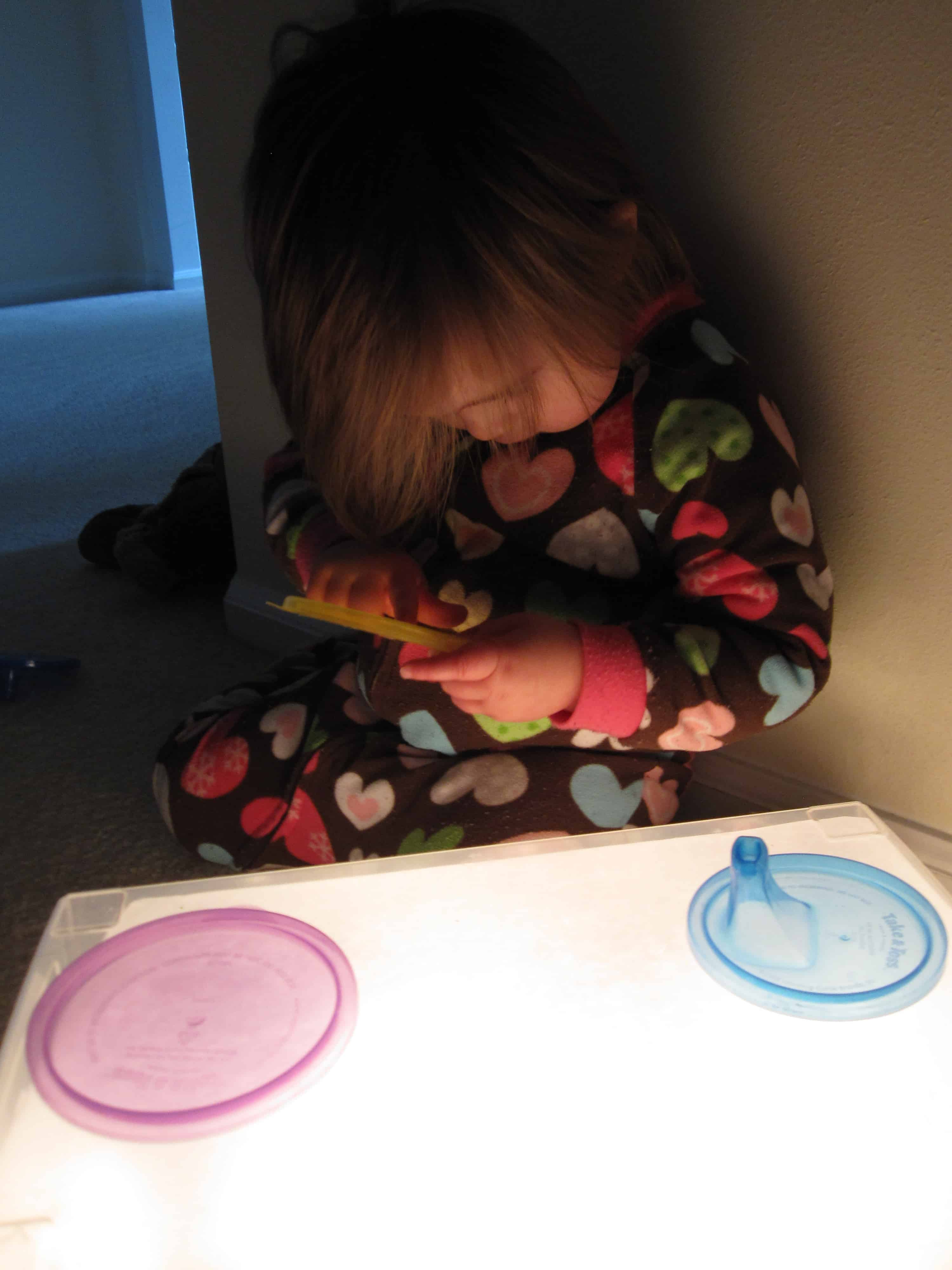Easy diy light table