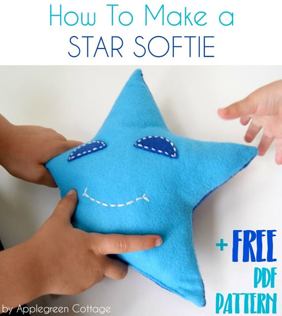 Easy star softie for kids