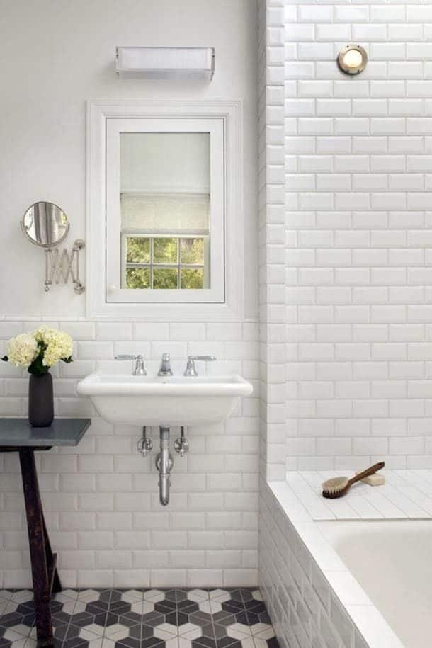 Full diy subway tile shower renovation