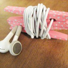 Headpone cord organizer