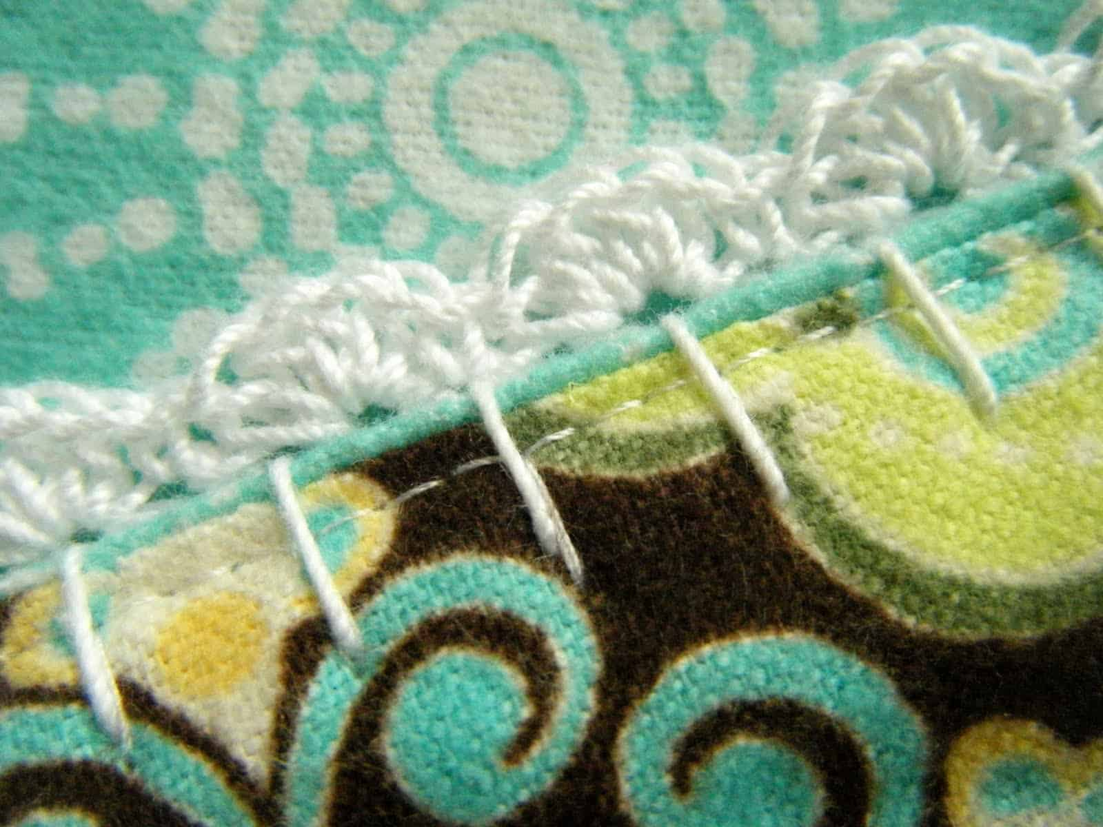 How to crochet an edge on any baby blanket