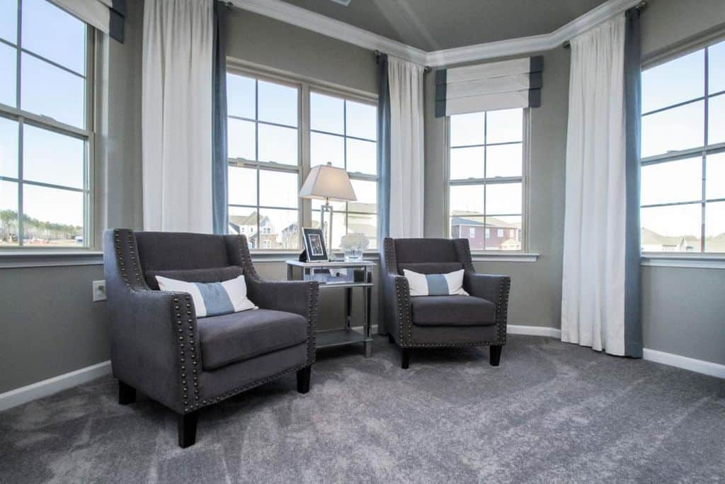 How to use charcoal grey in carpets