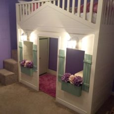Pottery barn knock off cottage bed