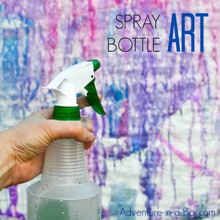 Spray bottle art