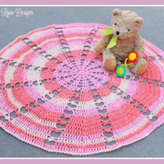 Sugar wheel baby blanket