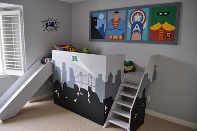 Super hero bed