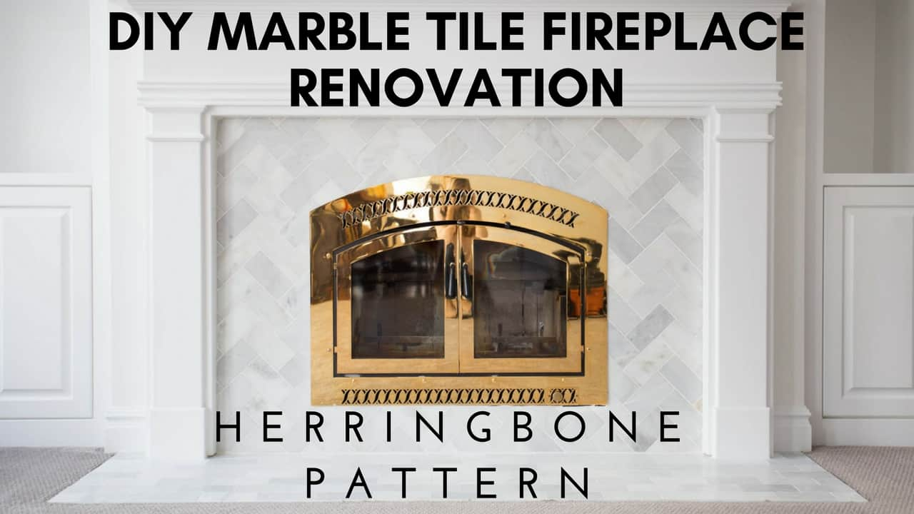 Tilling herringbone patterns with larger marble pieces