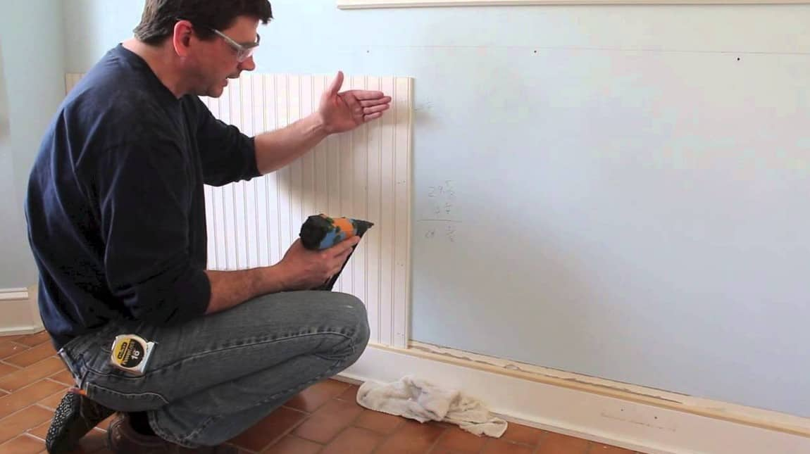 Tips and tricks for properly installing wainscoting