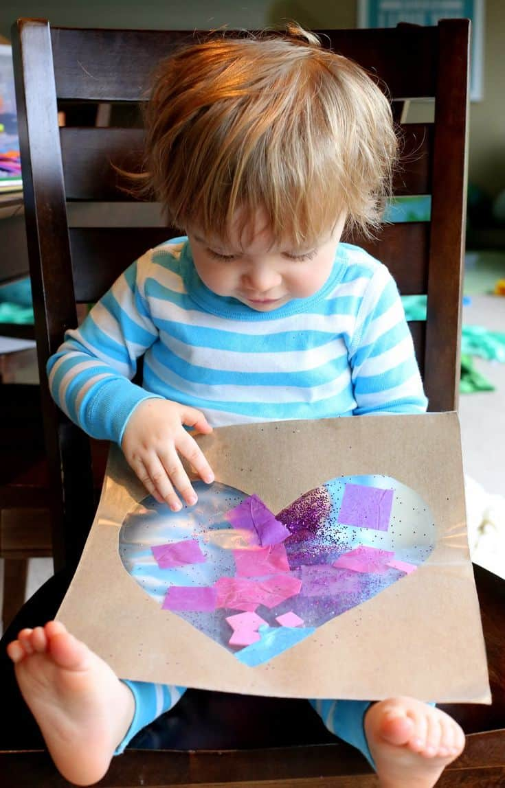 Tips for doing crafts with little kids