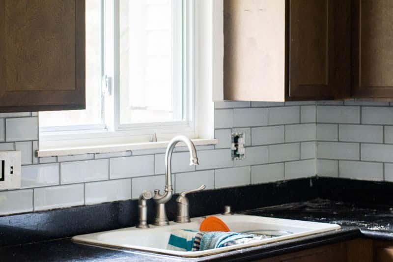 Tips for installing subway tiles around windows and electrical outlets