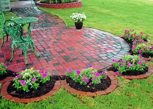 Brick garden edging ideas masters