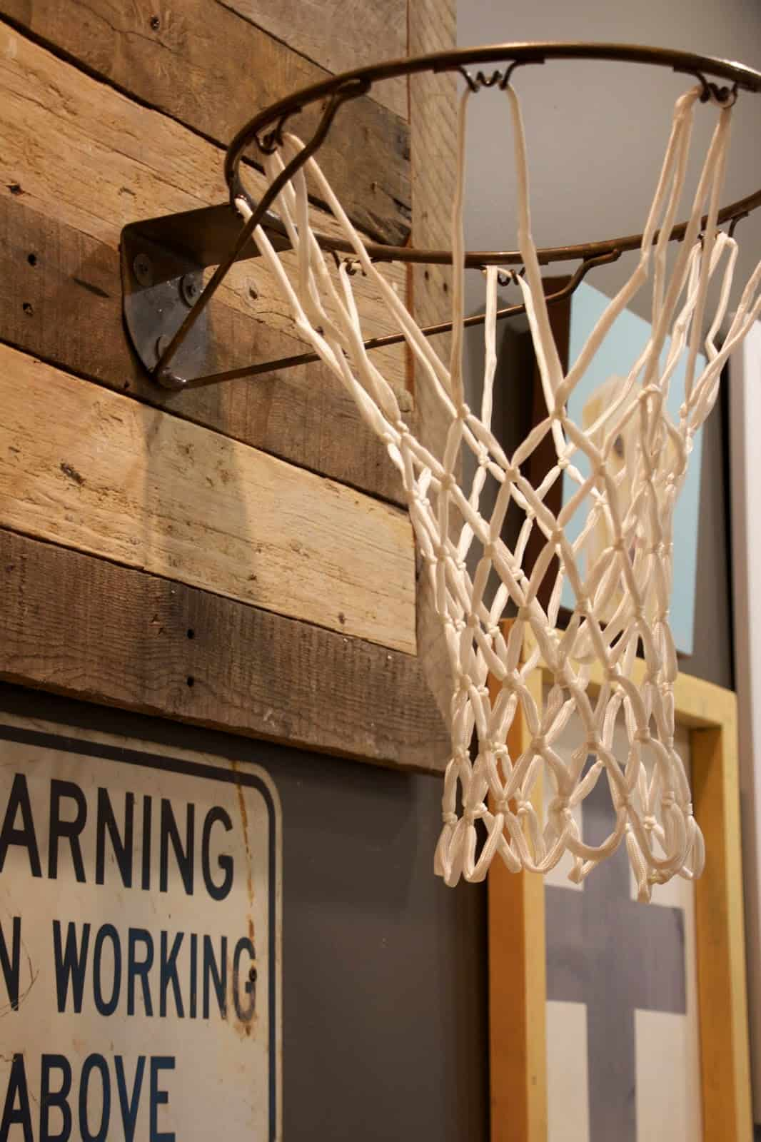 Diy basketball hoop