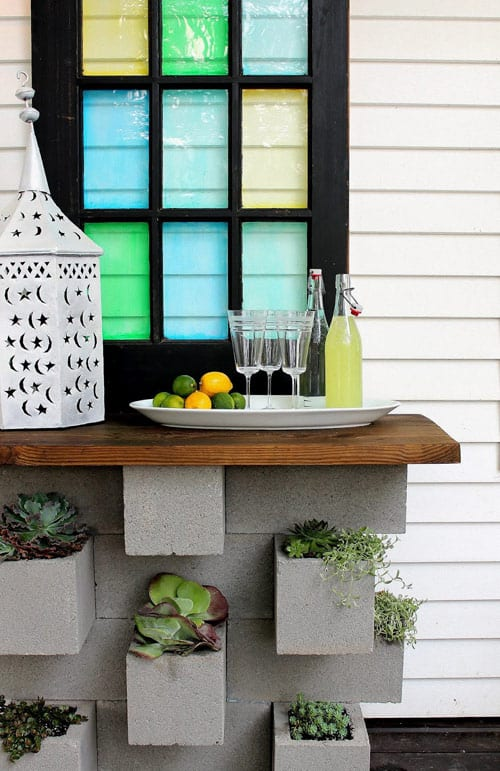 18 Outdoor Diy Bar Projects For Your Evening Backyard Parties