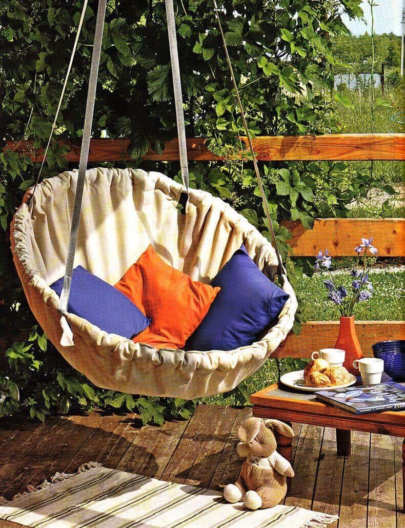 Diy hammock chair