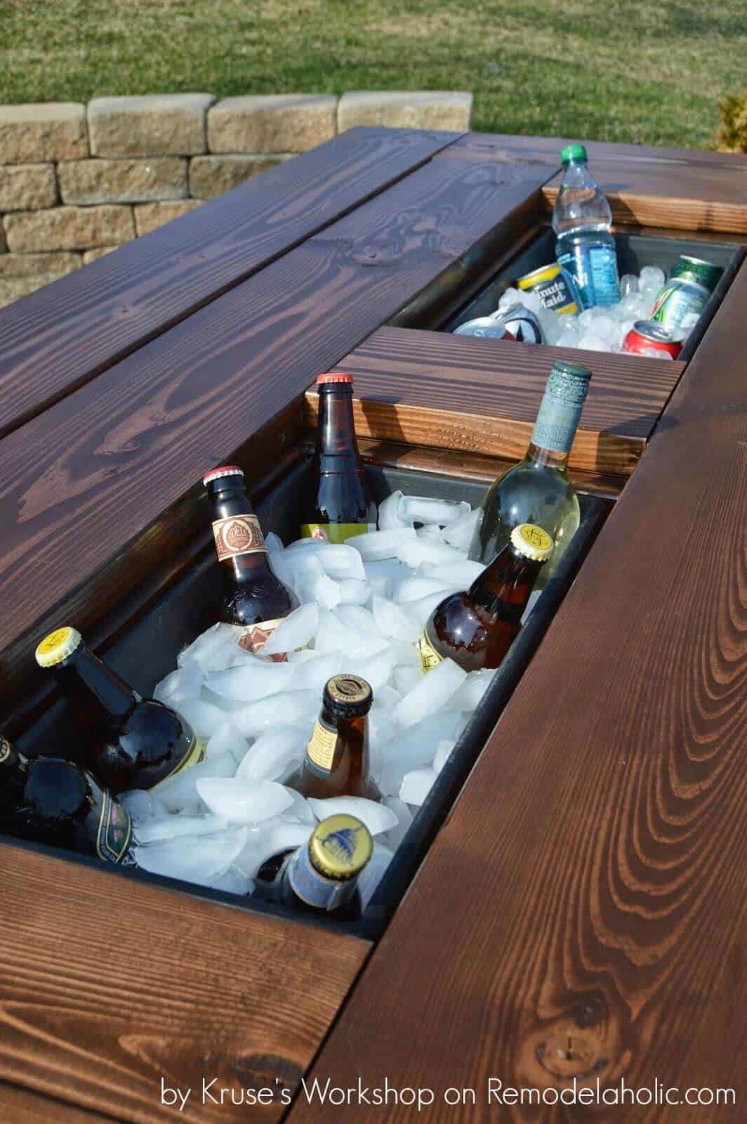 Diy icebox table
