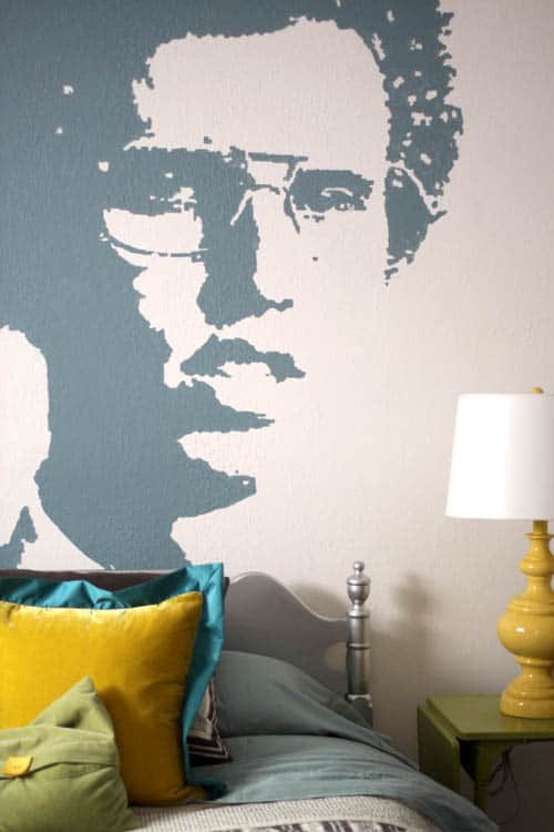 Diy napoleon dynamite wall art