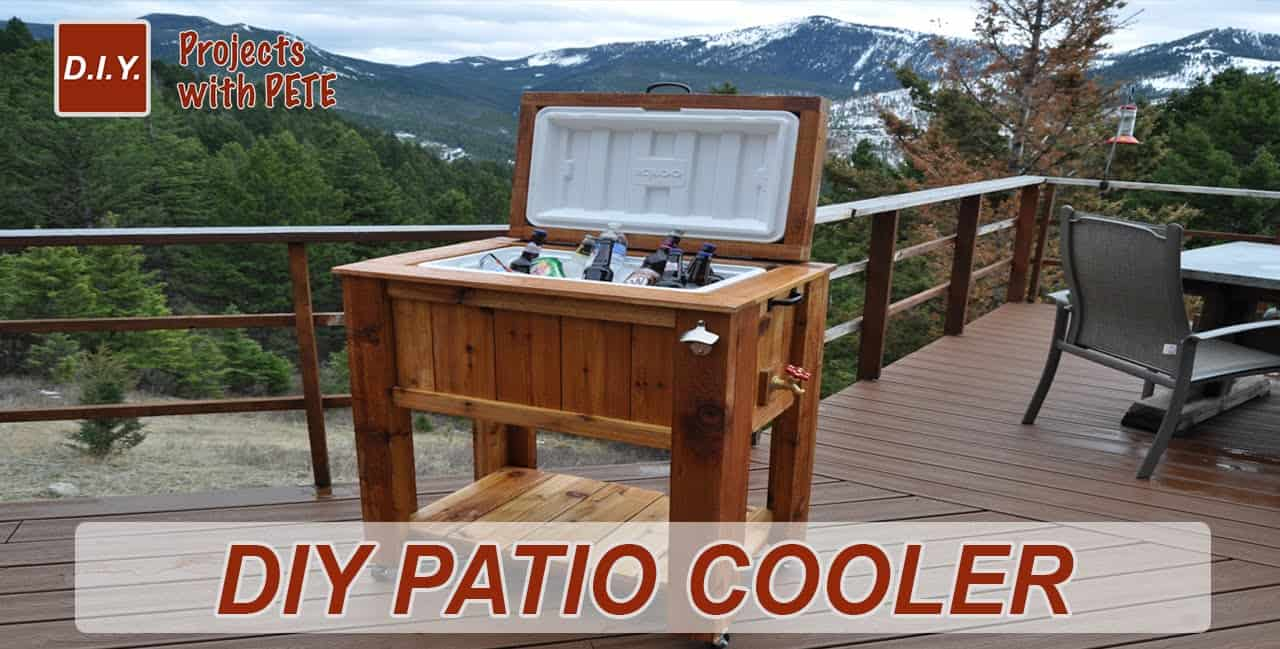 Diy patio cooler