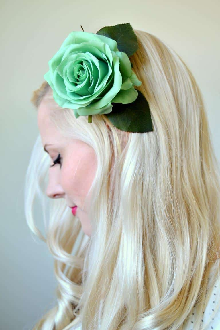 Jumbo hair flower clip