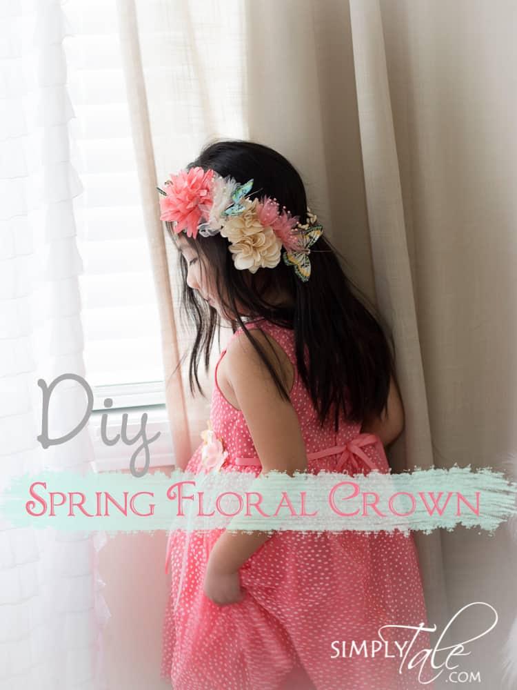 Luscious spring floral crown