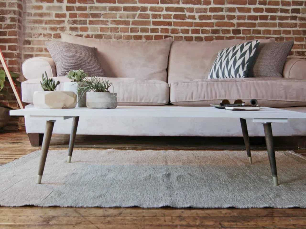 Midcentury style modern coffee table