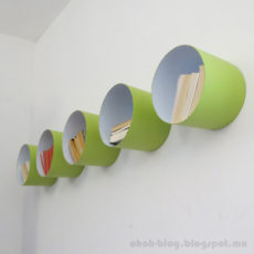 Mod paint bucket shelves