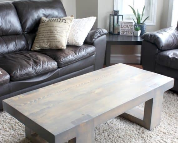 15 Rounded Diy Coffee Tables