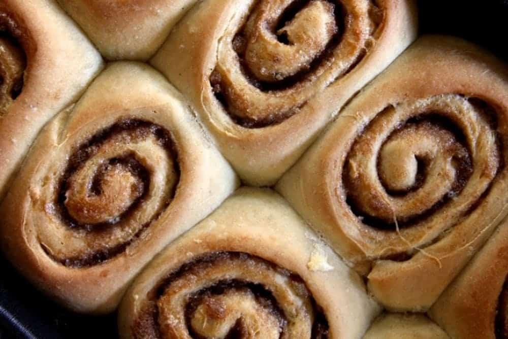 Chai spiced cinnamon rolls
