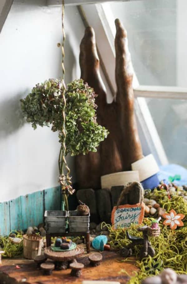 Diy indoor fairy garden 2