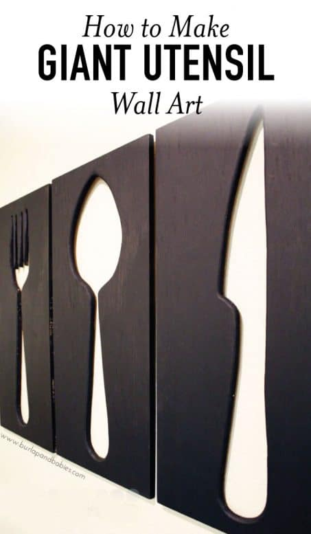 Giant utensils
