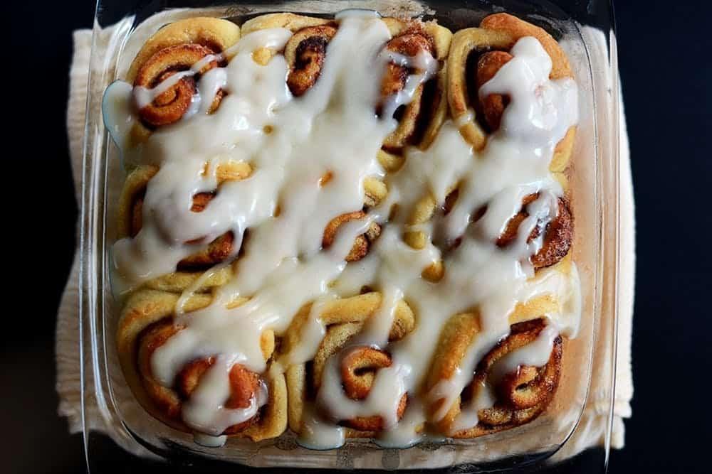 Vegan cinnamon ruls