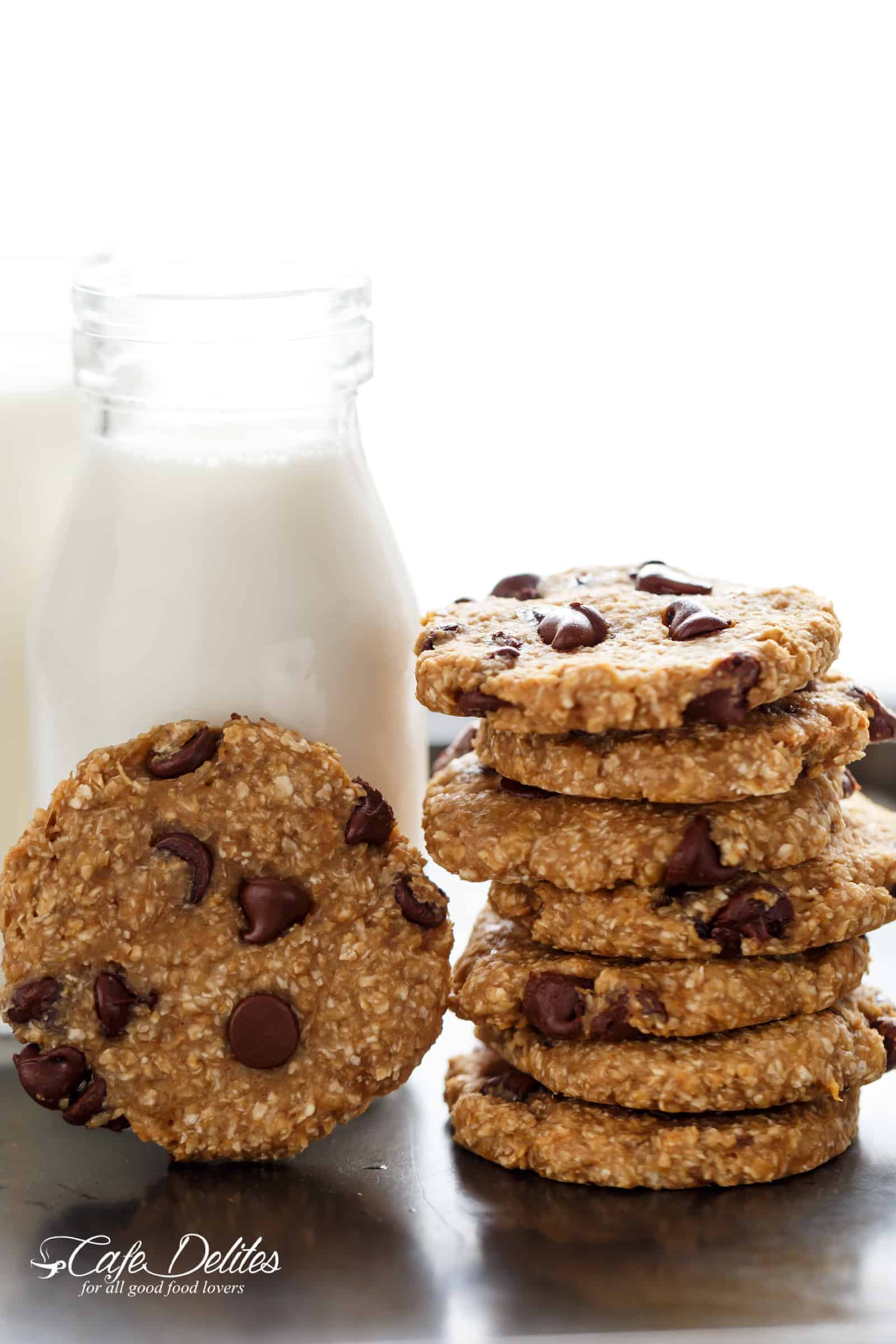 2 ingredient healthy breakfast cookies