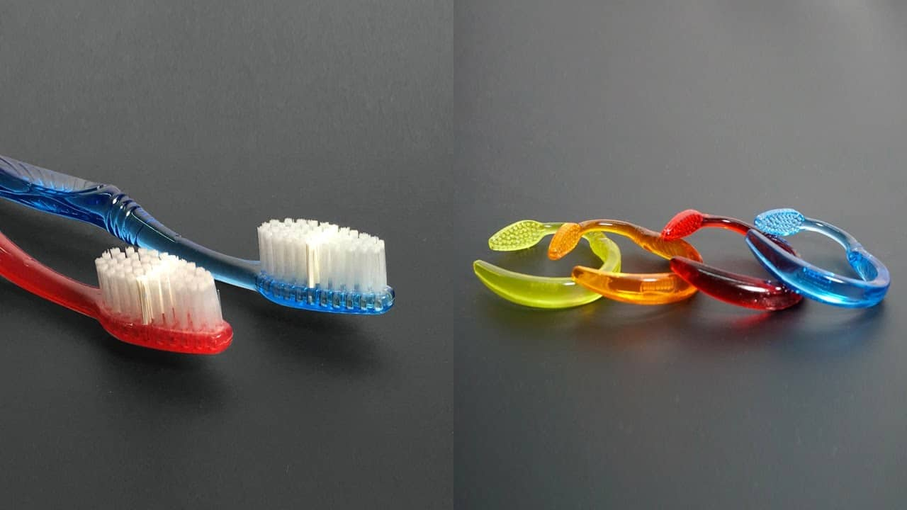 Diy toothbrush bracelets