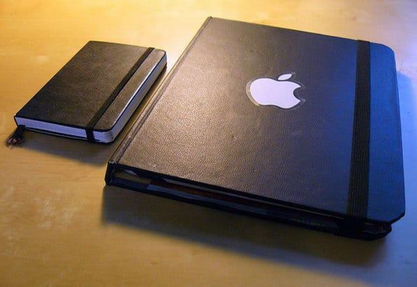 Elegant molskine book case