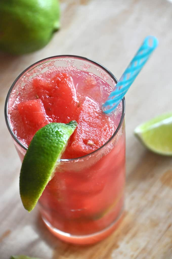 Grown up watermelon limeades
