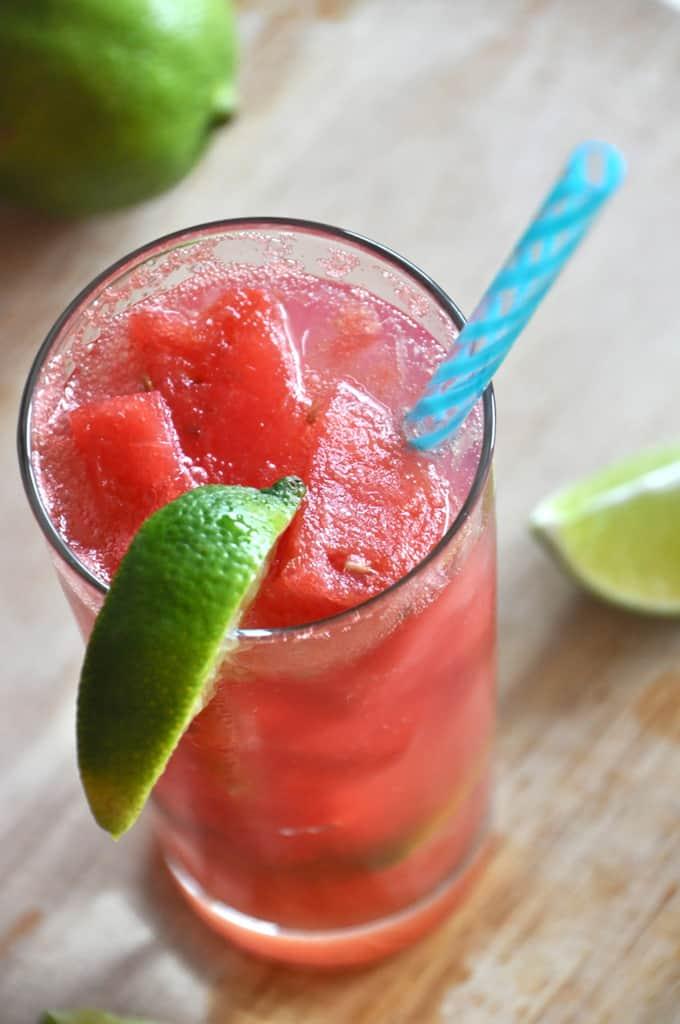 Grown up watermelon limeades