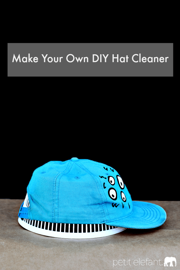 Hat cleaner from a salad spinner