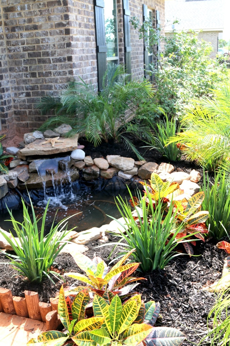 How to build a rocky front yard pond