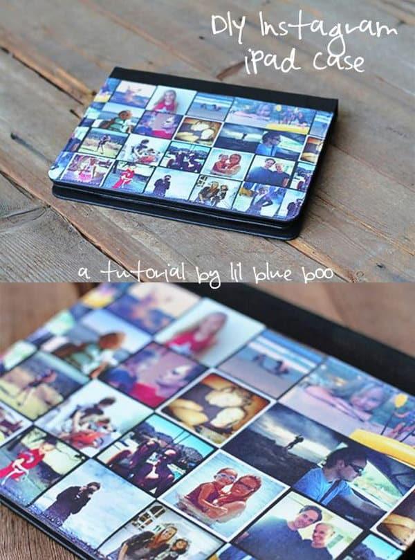 Instagram collage ipad case