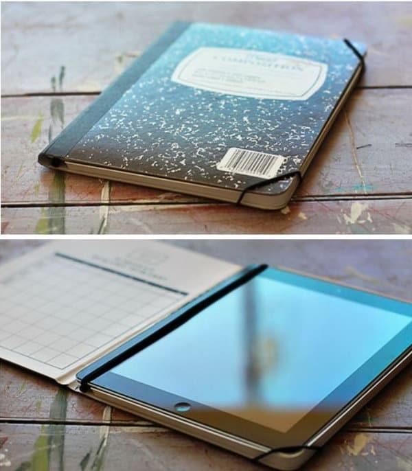 Scribbler notebook ipad case