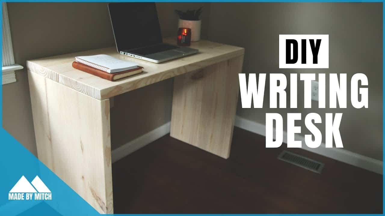 Simple diy writing desk